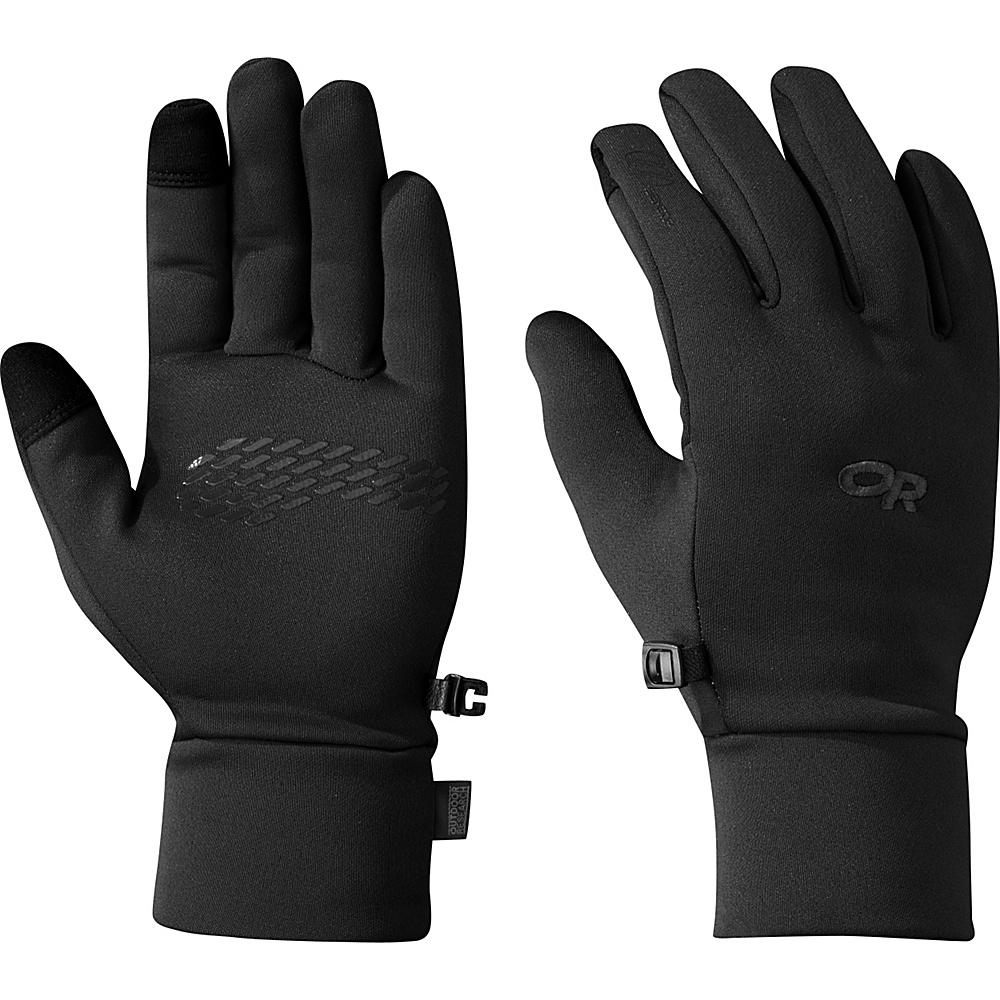 Outdoor Research PL 100 Sensor Gloves Mens L - Black - Outdoor Research Hats/Gloves/Scarves - Fashion Accessories, Hats/Gloves/Scarves
