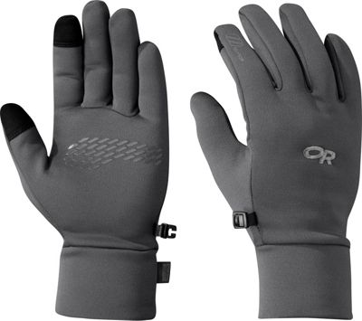 Outdoor Research PL 100 Sensor Gloves Men's Charcoal Heather – LG - Outdoor Research Gloves