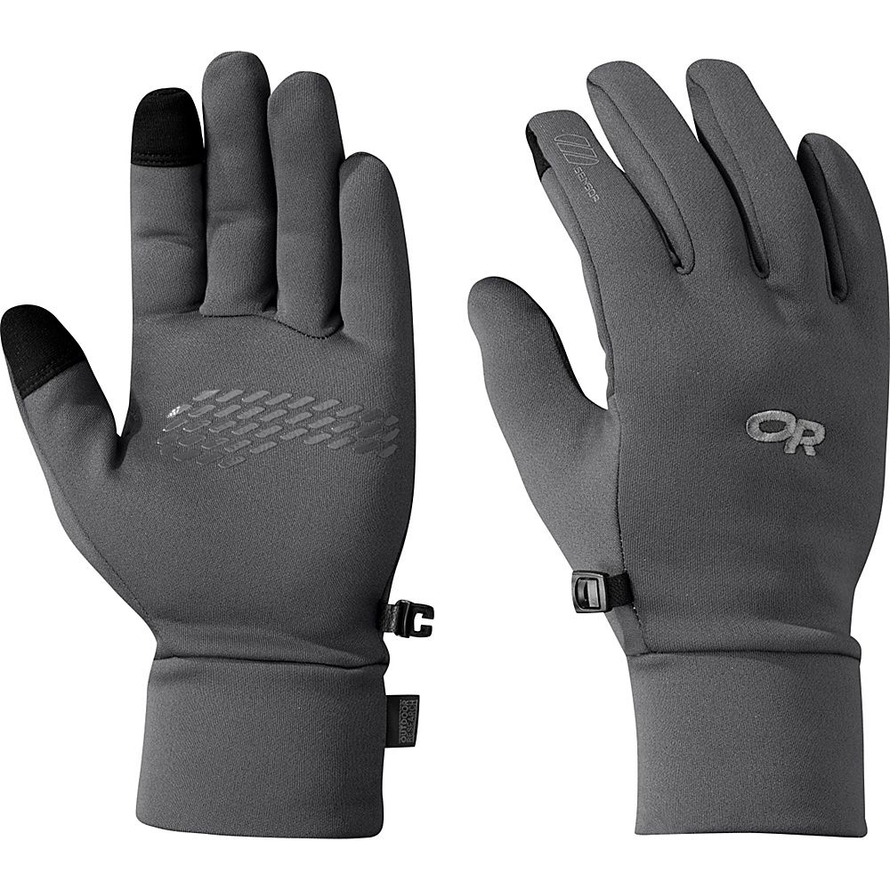 Outdoor Research PL 100 Sensor Gloves Mens L - Charcoal Heather – LG - Outdoor Research Hats/Gloves/Scarves - Fashion Accessories, Hats/Gloves/Scarves