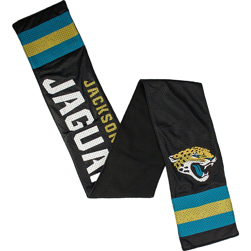 Littlearth Jersey Scarf NFL Teams Jacksonville Jaguars Littlearth Hats Gloves Scarves