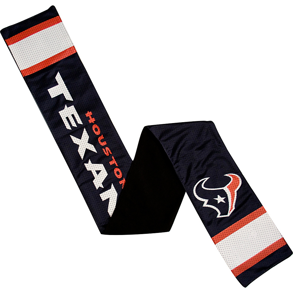 Littlearth Jersey Scarf NFL Teams Houston Texans Littlearth Hats Gloves Scarves