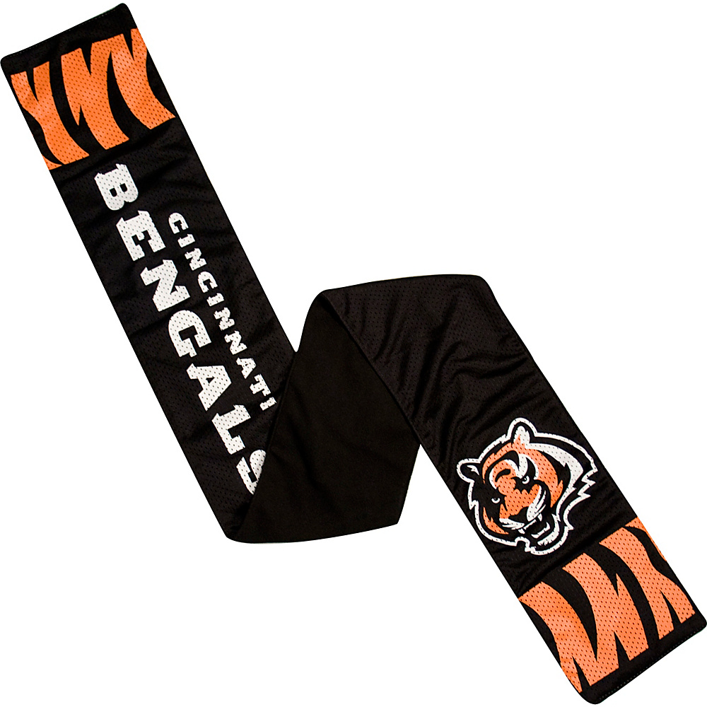 Littlearth Jersey Scarf - NFL Teams Cincinnati Bengals - Littlearth Hats/Gloves/Scarves - Fashion Accessories, Hats/Gloves/Scarves