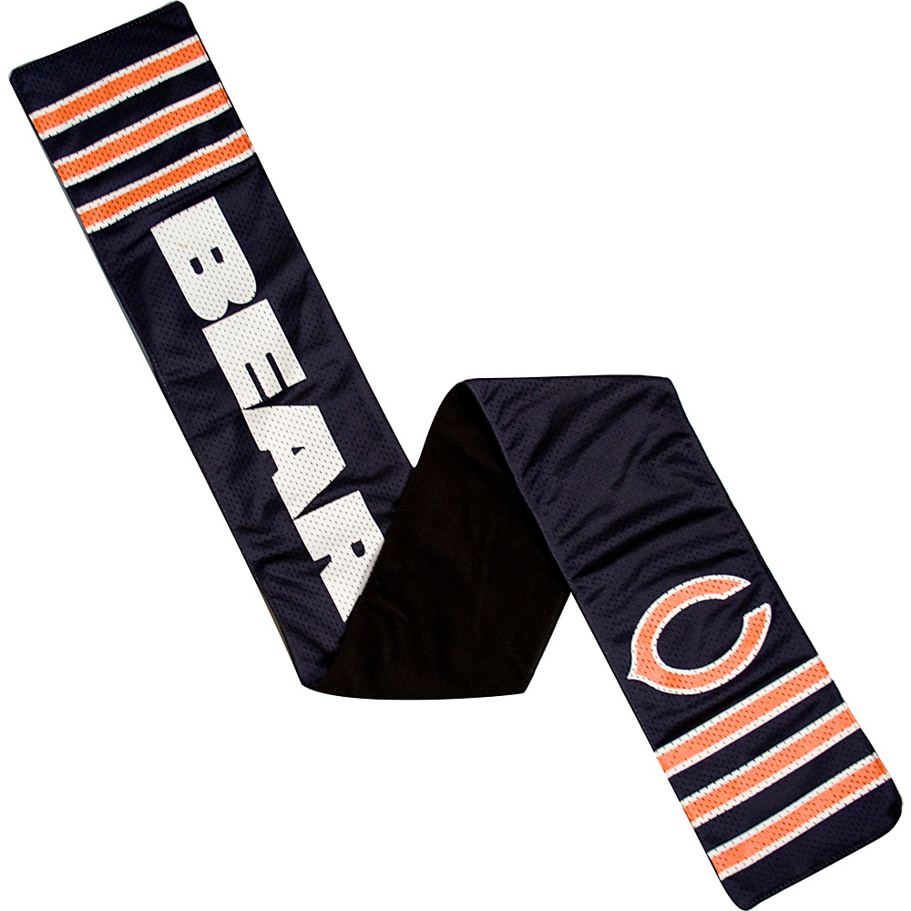 Littlearth Jersey Scarf NFL Teams Chicago Bears Littlearth Hats Gloves Scarves