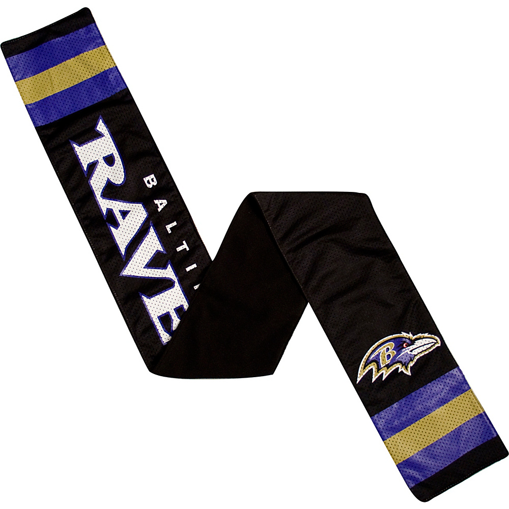 Littlearth Jersey Scarf NFL Teams Baltimore Ravens Littlearth Hats Gloves Scarves