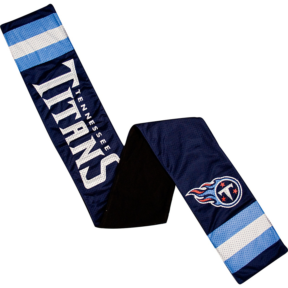 Littlearth Jersey Scarf - NFL Teams Tennessee Titans - Littlearth Hats/Gloves/Scarves - Fashion Accessories, Hats/Gloves/Scarves