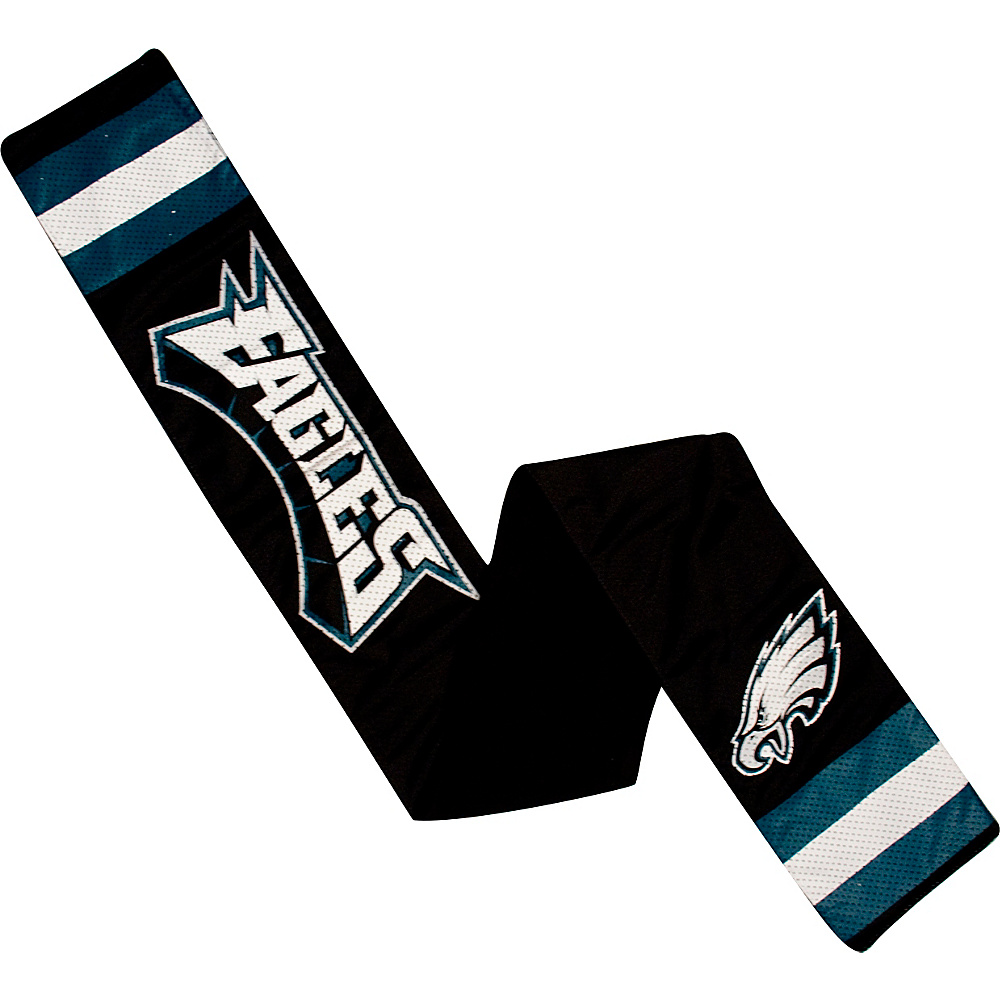 Littlearth Jersey Scarf NFL Teams Philadelphia Eagles Littlearth Hats Gloves Scarves