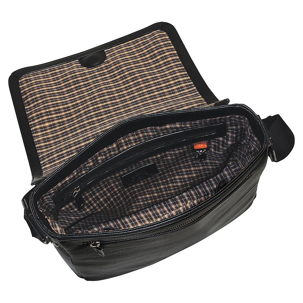 Dopp SoHo Messenger Dark Brown - Dopp Messenger Bags