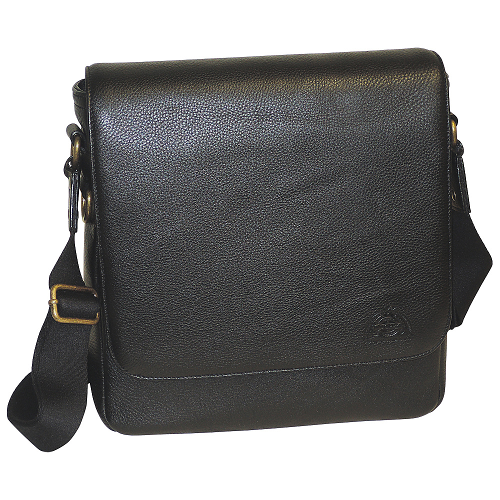 Dopp SoHo Messenger Dark Brown - Dopp Messenger Bags