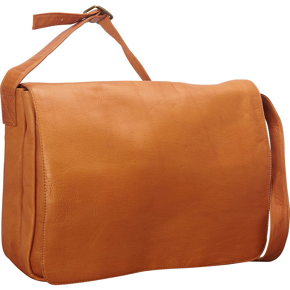Latico Leathers Yosemite Laptop Messenger - LG Natural - Latico Leathers Messenger Bags - Work Bags & Briefcases, Messenger Bags