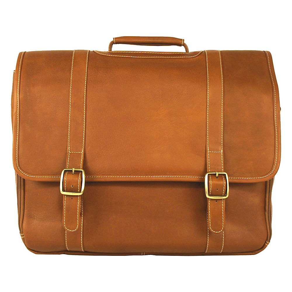Latico Leathers Grammercy Park Laptop Brief - LG Natural - Latico Leathers Non-Wheeled Business Cases - Work Bags & Briefcases, Non-Wheeled Business Cases