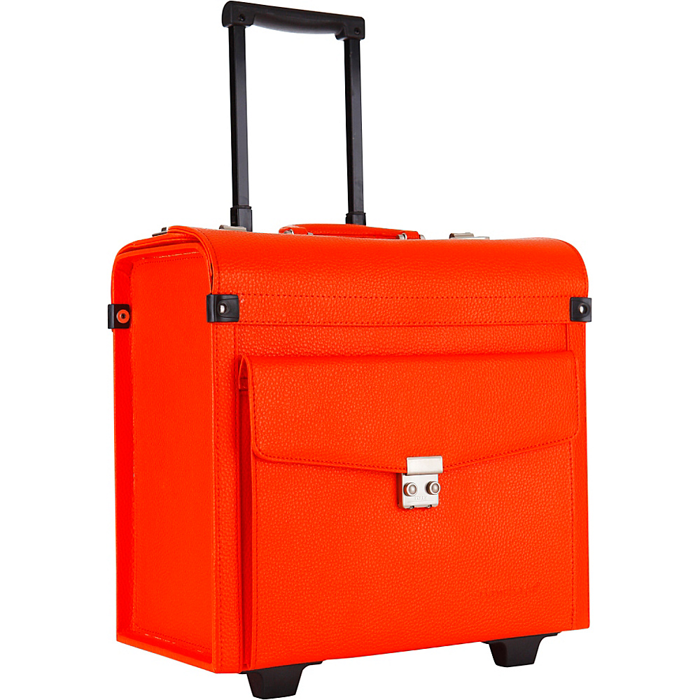 Bombata Trolley Aviatore Orange Bombata Wheeled Business Cases
