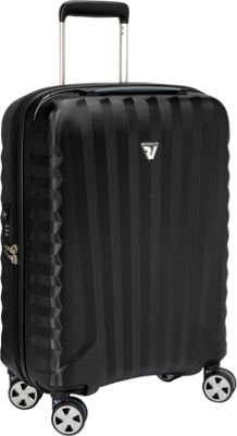 Roncato UNO ZSL Premium 22 inch Int'l Carry-On Spinner Black - Roncato Hardside Carry-On