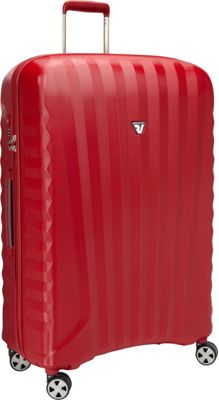 Roncato UNO ZSL Premium 32 inch Spinner Red - Roncato Hardside Checked