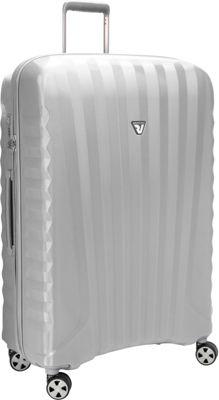 Roncato UNO ZSL Premium 32 inch Spinner Silver - Roncato Hardside Checked