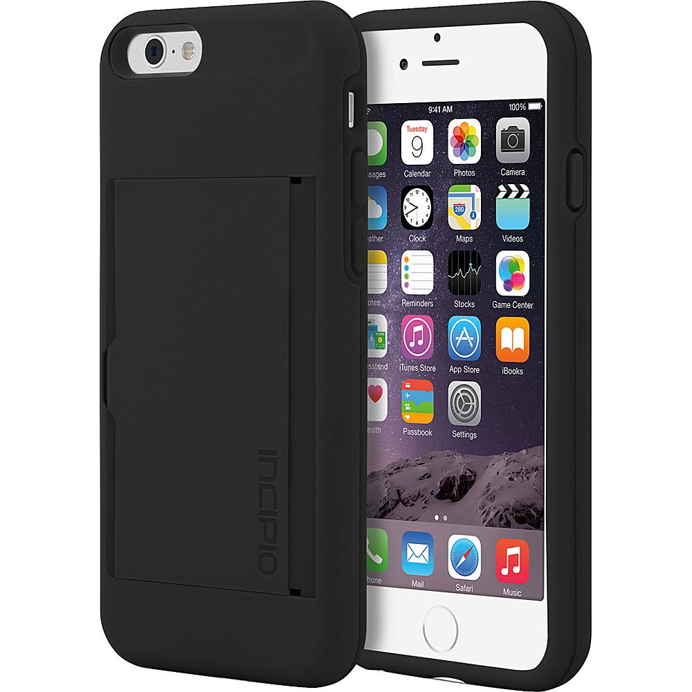 Incipio Stowaway iPhone 6/6s Case Black/Black - Incipio Electronic Cases - Technology, Electronic Cases