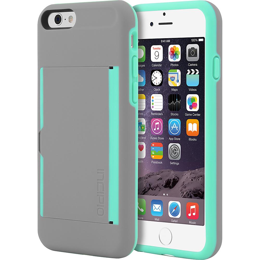 Incipio Stowaway iPhone 6/6s Case Dark Gray/Teal - Incipio Electronic Cases - Technology, Electronic Cases