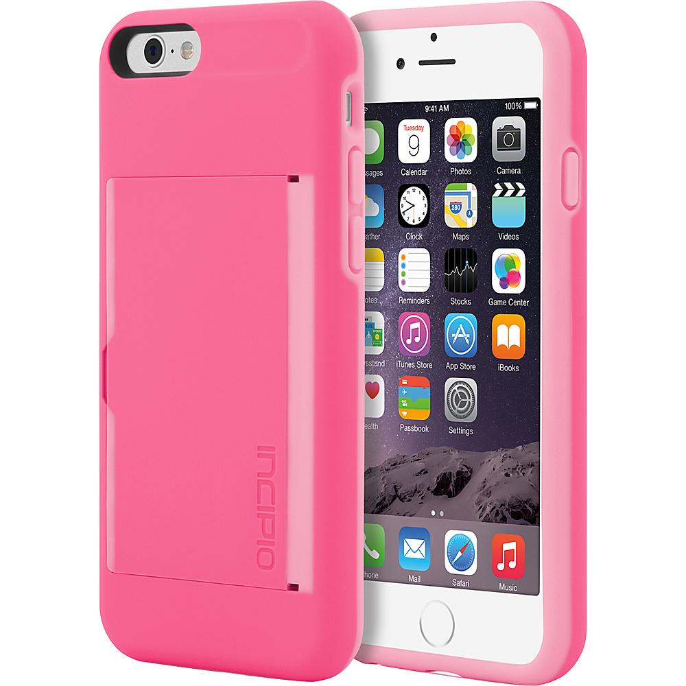 Incipio Stowaway iPhone 6/6s Case Pink/Pink - Incipio Electronic Cases