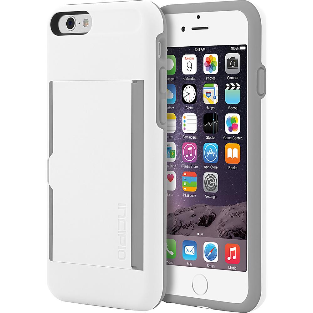 Incipio Stowaway iPhone 6/6s Case White/Gray - Incipio Electronic Cases - Technology, Electronic Cases