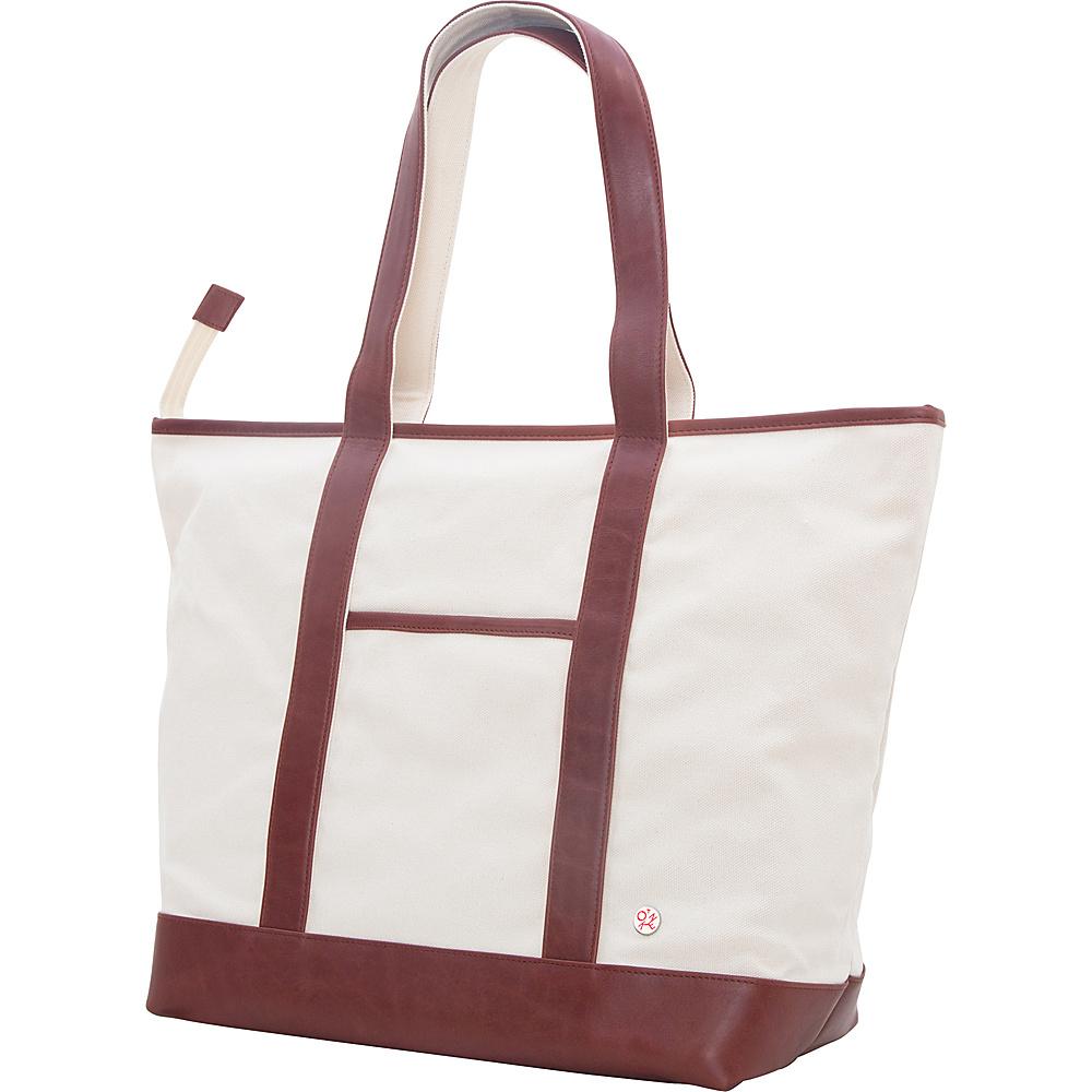 TOKEN Greenpoint Organic Tote (L) Camel - TOKEN Fabric Handbags