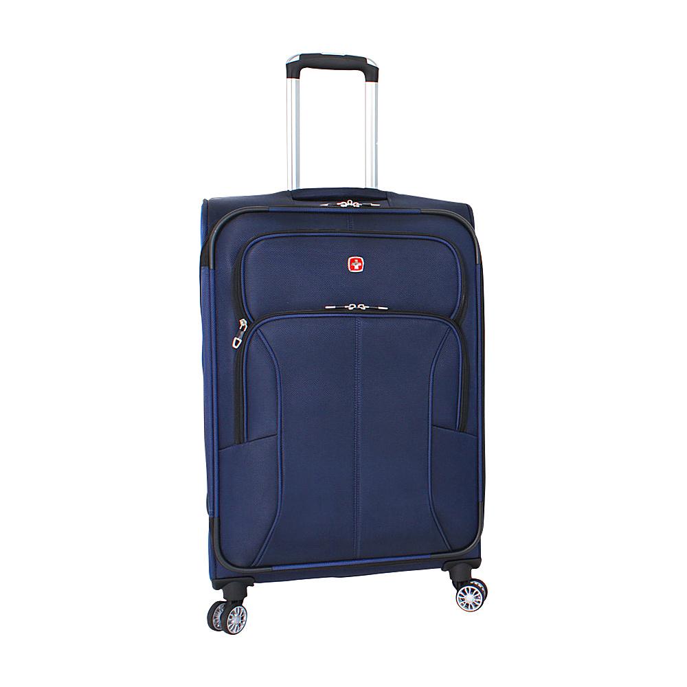 SwissGear Travel Gear Deluxe 8 Wheeled 24 Spinner Blue SwissGear Travel Gear Softside Checked
