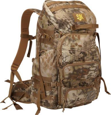 Slumberjack Carbine 2500 Hiking Backpack Kryptek Highlander - Slumberjack Day Hiking Backpacks