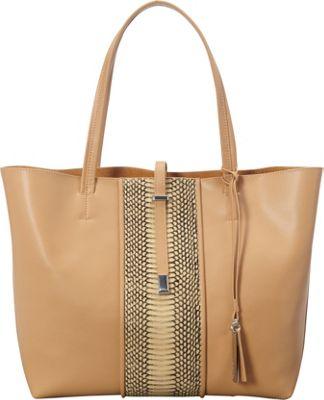 Vince Camuto Leila Tote Nude/Nude - Vince Camuto Designer Handbags