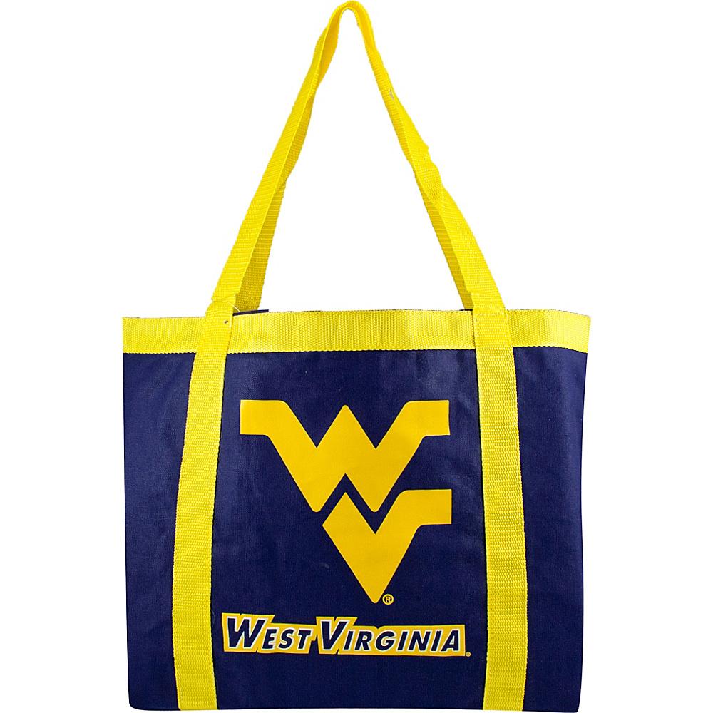 Littlearth Team Tailgate Tote - Big 12 Teams West Virginia University - Littlearth Fabric Handbags - Handbags, Fabric Handbags