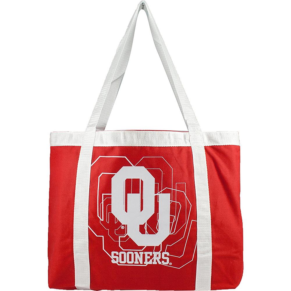 Littlearth Team Tailgate Tote - Big 12 Teams Oklahoma, U of - Littlearth Fabric Handbags - Handbags, Fabric Handbags