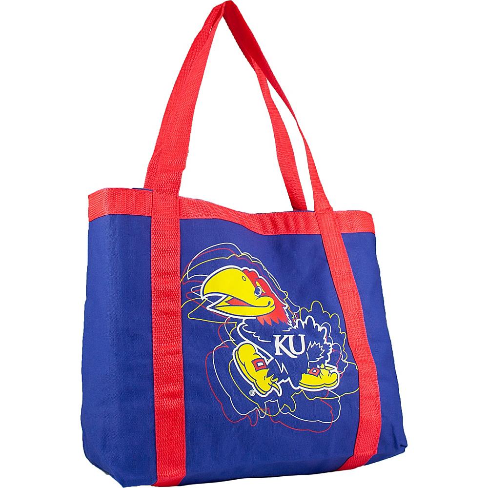 Littlearth Team Tailgate Tote - Big 12 Teams Kansas, U of - Littlearth Fabric Handbags - Handbags, Fabric Handbags