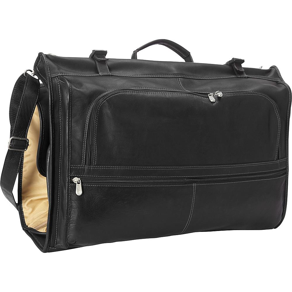 Piel Tri-Fold Garment Bag Black - Piel Garment Bags