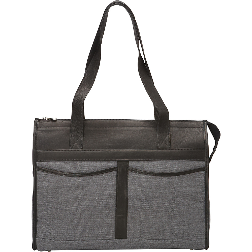Piel Travel Tote Bag Black - Piel Leather Handbags - Handbags, Leather Handbags