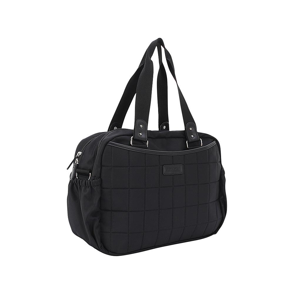 Stellakim Leslie Diaper Tote Black - Stellakim Diaper Bags & Accessories