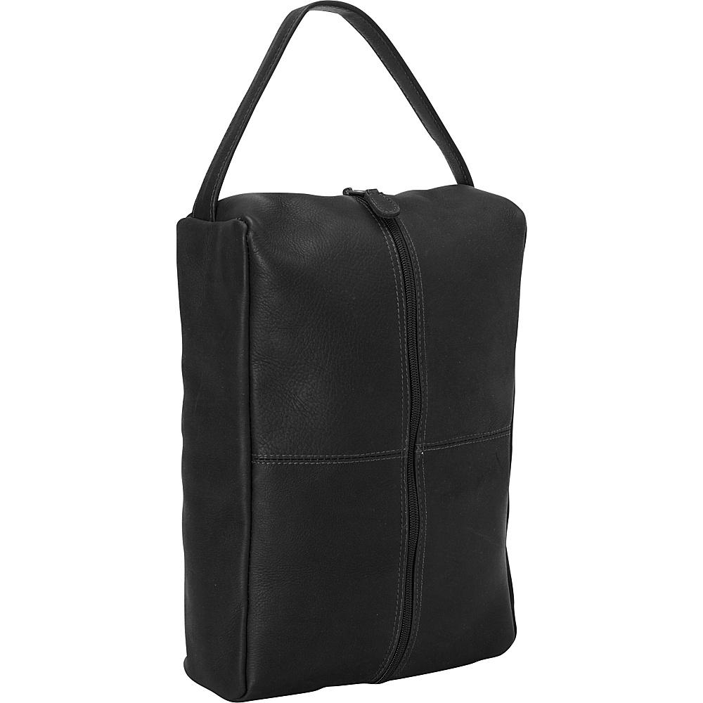 Latico Leathers Travel Shoe Bag Black - Latico Leathers Travel Organizers - Travel Accessories, Travel Organizers