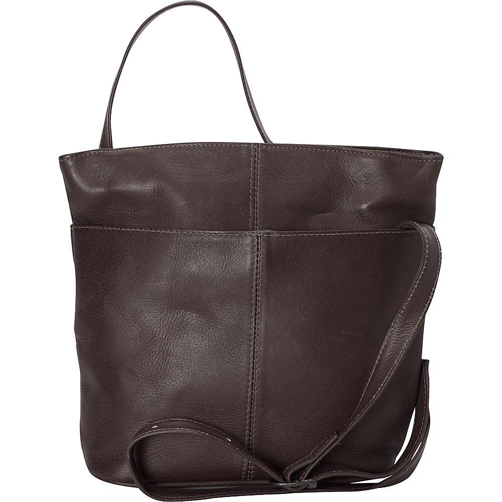 Latico Leathers Crystal Crossbody Café - Latico Leathers Leather Handbags - Handbags, Leather Handbags