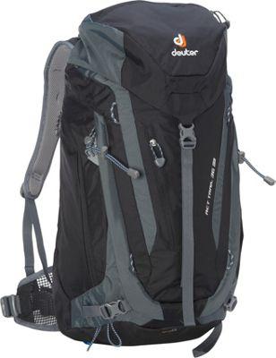 Deuter ACT Trail 36 EL Hiking Backpack Black/Granite - Deuter Day Hiking Backpacks