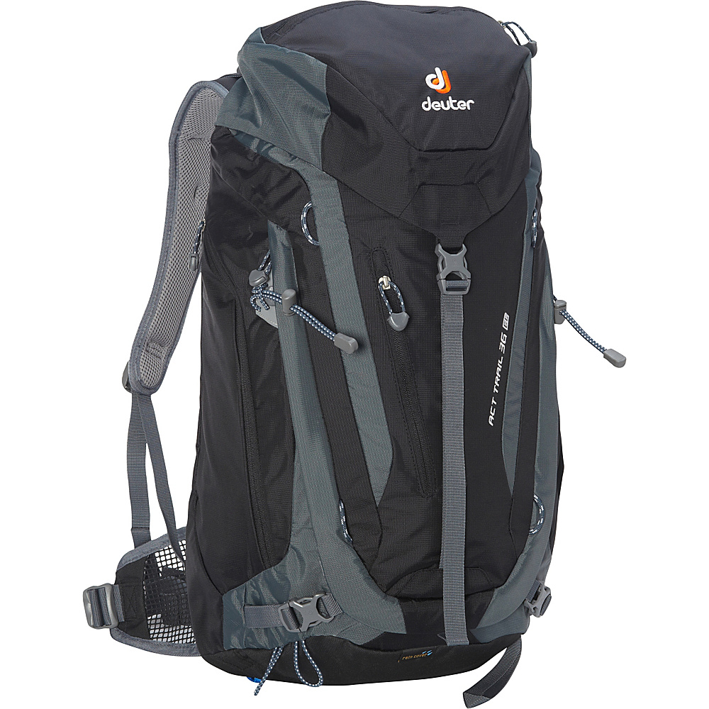Deuter ACT Trail 36 EL Hiking Backpack Black Granite Deuter Day Hiking Backpacks