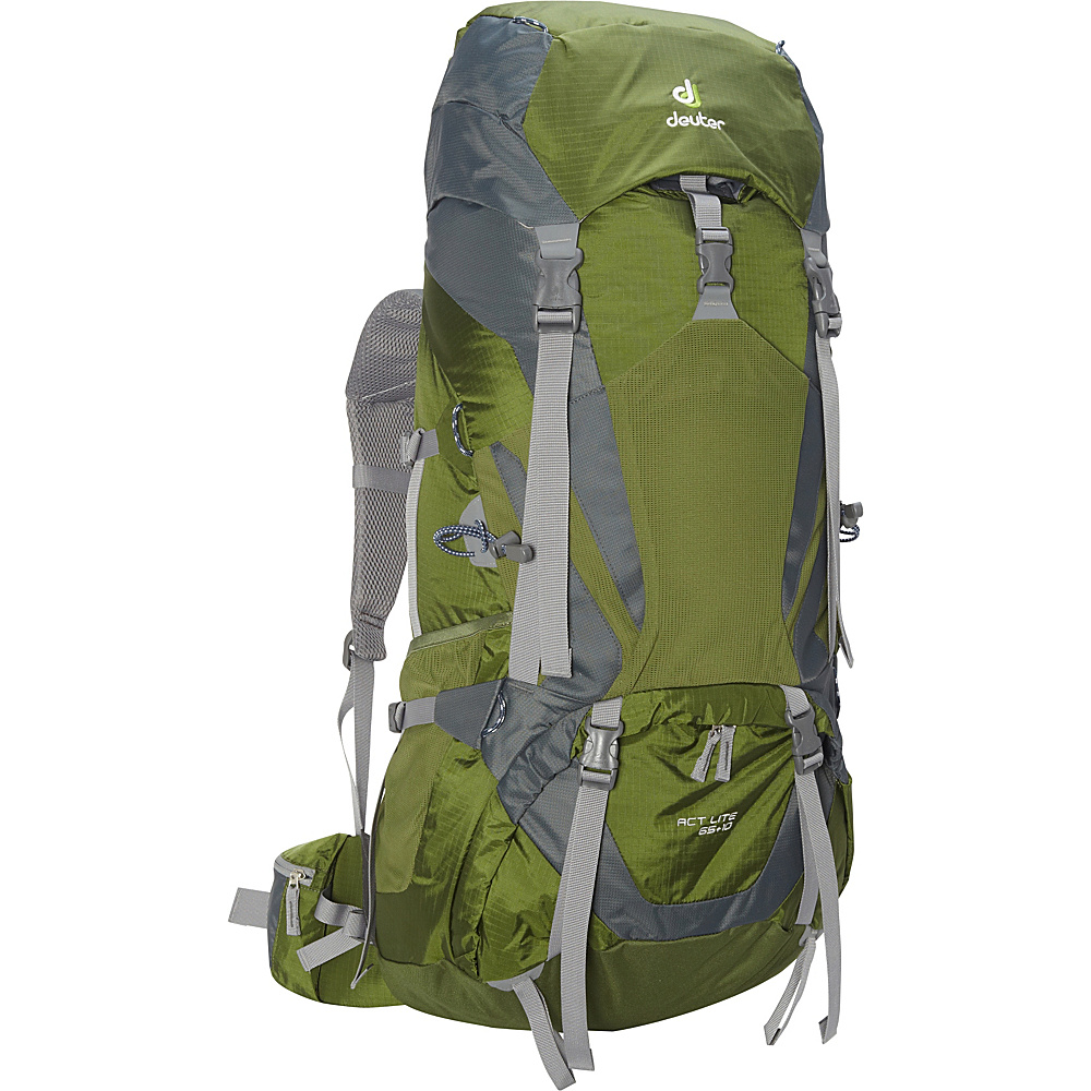 Deuter ACT Lite 65 10 Hiking Backpack pine moss Deuter Day Hiking Backpacks
