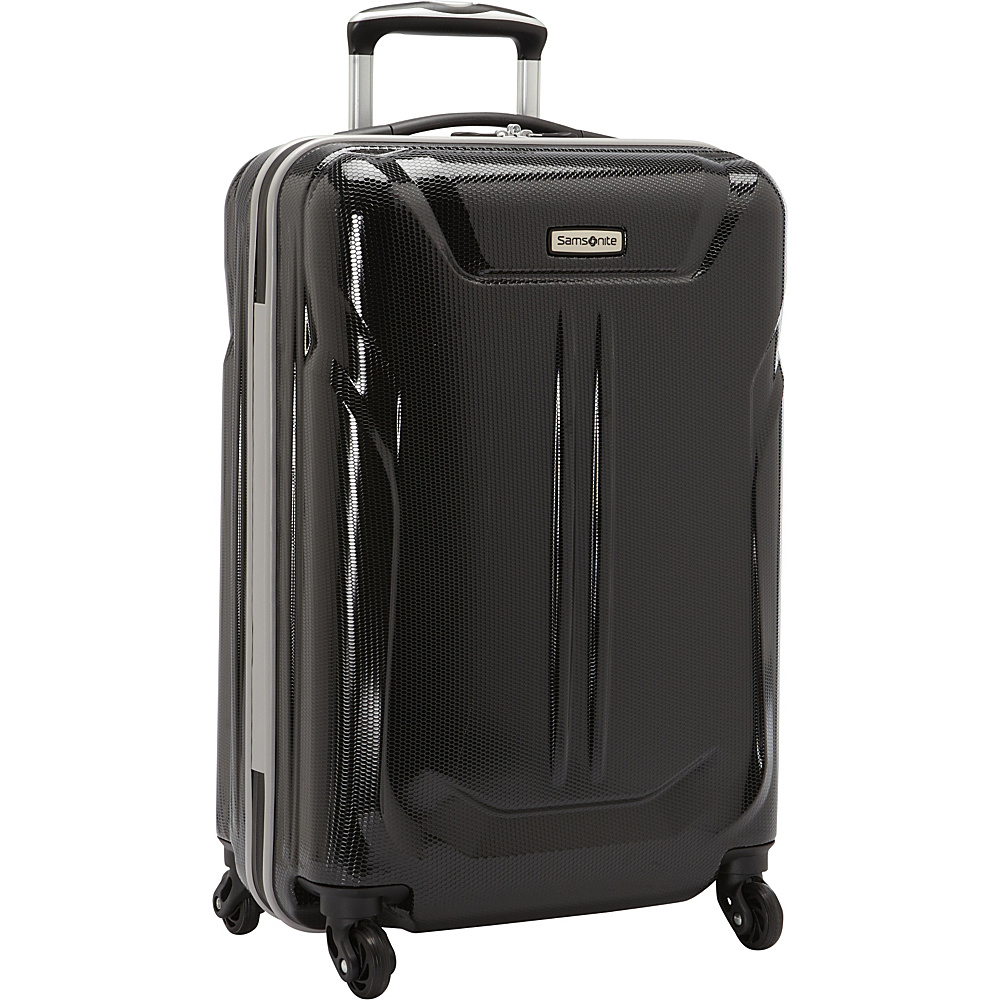 Samsonite LiFTwo Hardside Spinner 21 Black Samsonite Hardside Carry On
