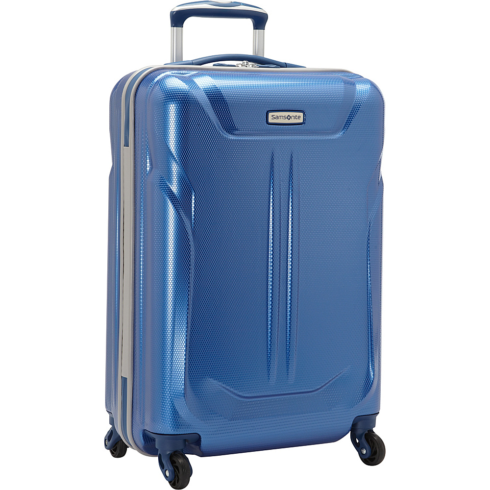 Samsonite LiFTwo Hardside Spinner 21 Blue Samsonite Hardside Carry On