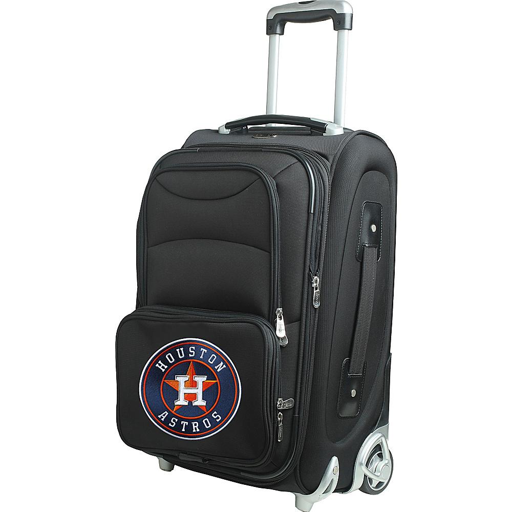 Denco Sports Luggage MLB 21 Wheeled Upright Houston Astros - Denco Sports Luggage Softside Carry-On - Luggage, Softside Carry-On