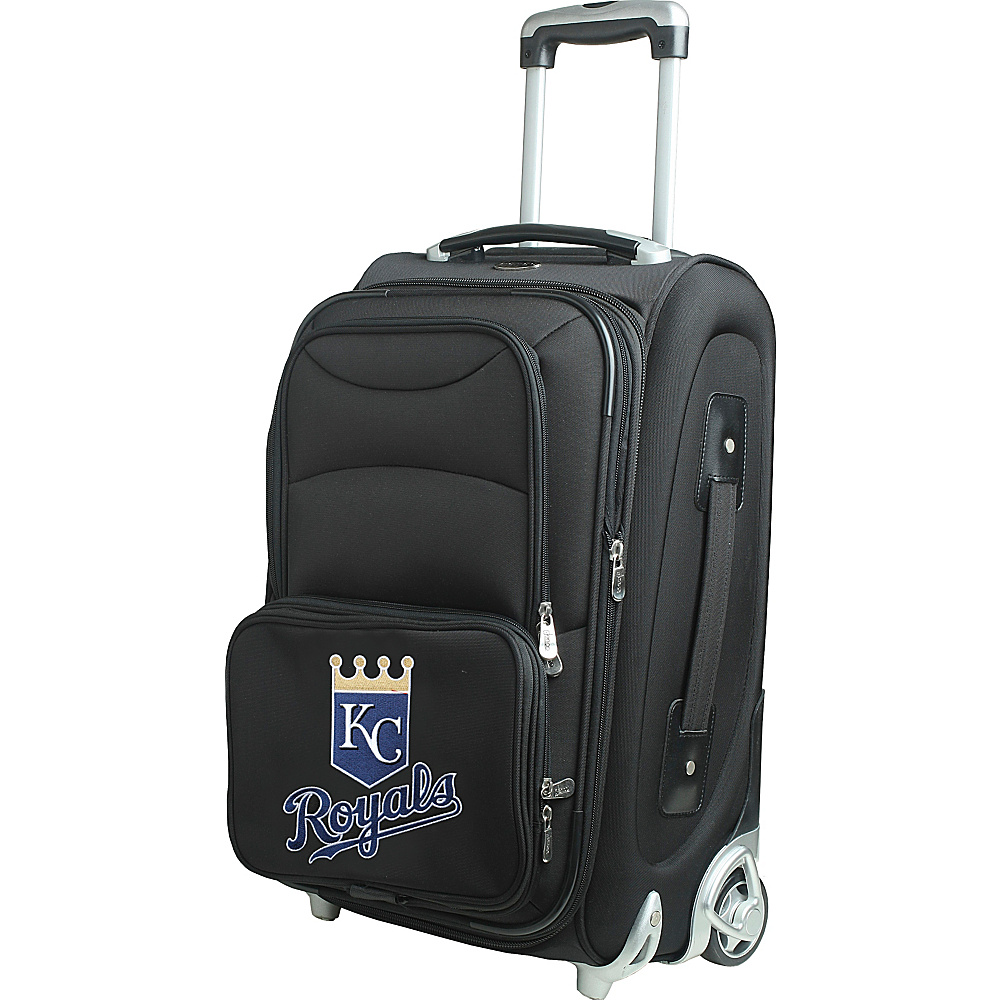 Denco Sports Luggage MLB 21 Wheeled Upright Kansas City Royals - Denco Sports Luggage Softside Carry-On - Luggage, Softside Carry-On