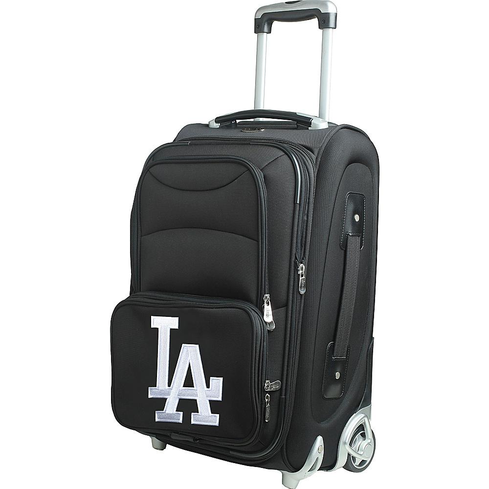 Denco Sports Luggage MLB 21 Wheeled Upright Los Angeles Dodgers - Denco Sports Luggage Softside Carry-On - Luggage, Softside Carry-On