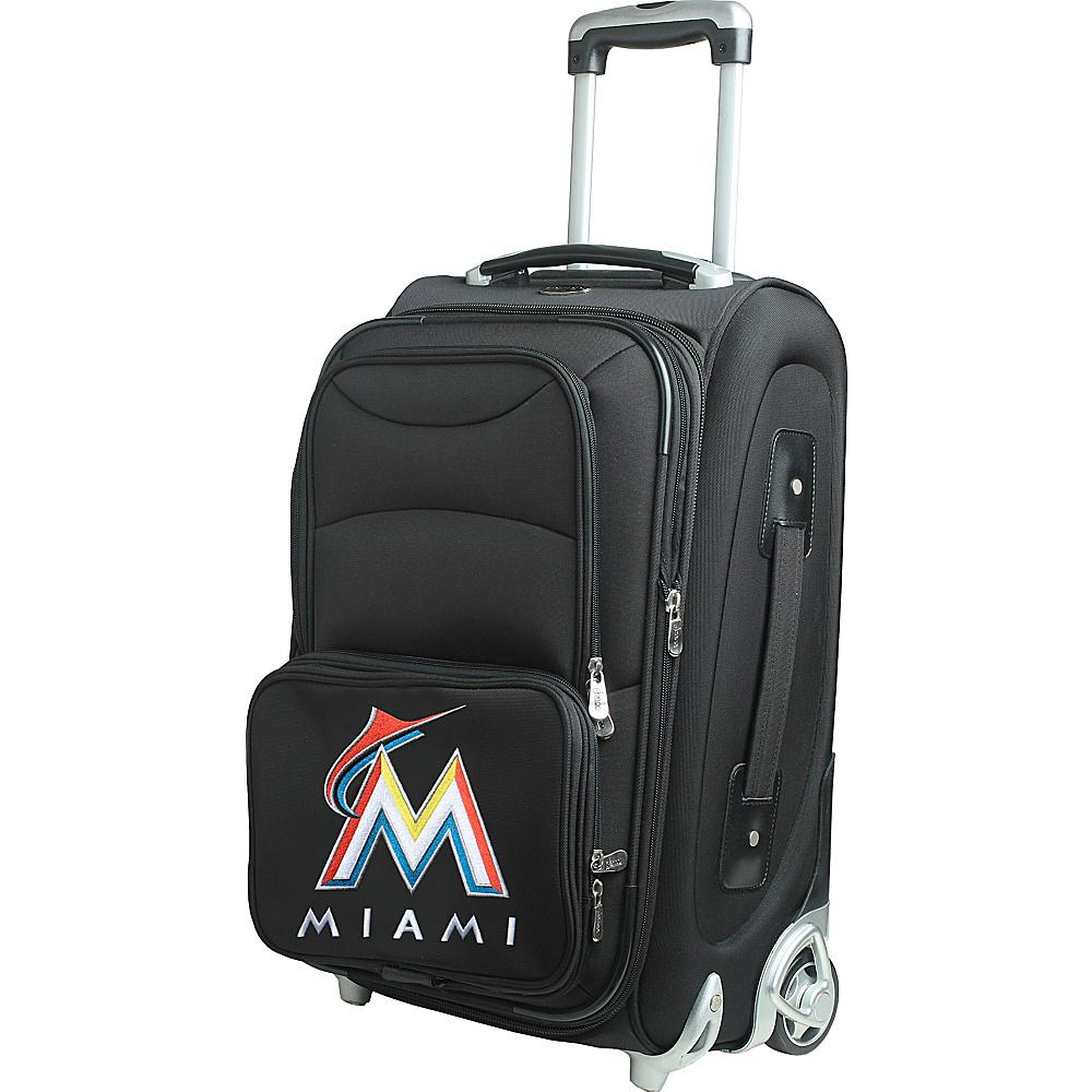 Denco Sports Luggage MLB 21 Wheeled Upright Miami Marlins - Denco Sports Luggage Softside Carry-On - Luggage, Softside Carry-On