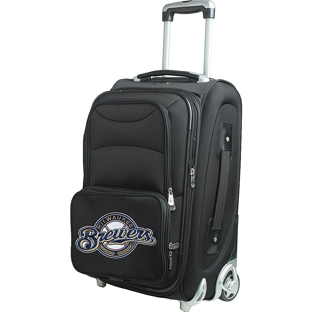 Denco Sports Luggage MLB 21 Wheeled Upright Milwaukee Brewers - Denco Sports Luggage Softside Carry-On - Luggage, Softside Carry-On