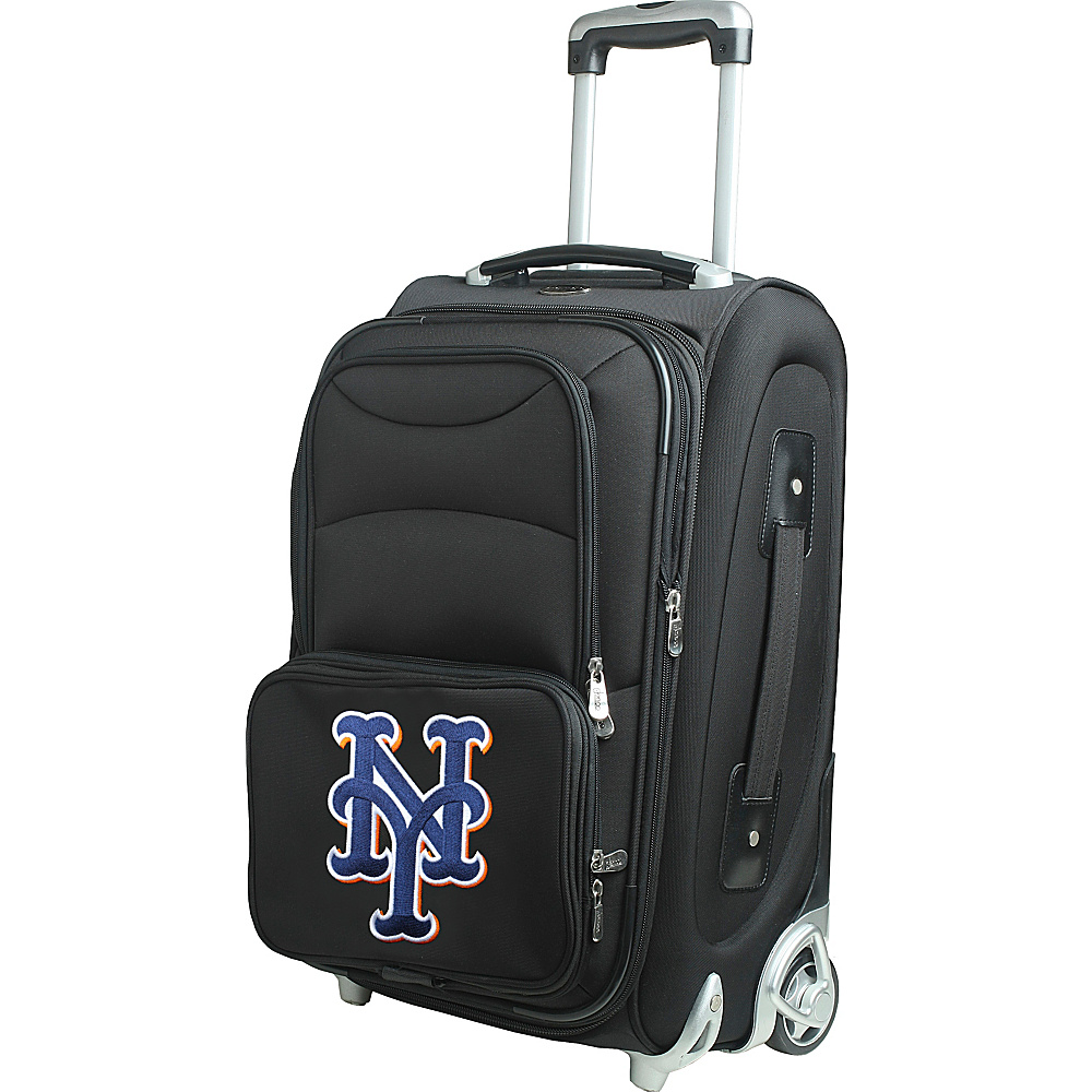 Denco Sports Luggage MLB 21 Wheeled Upright New York Mets - Denco Sports Luggage Softside Carry-On - Luggage, Softside Carry-On