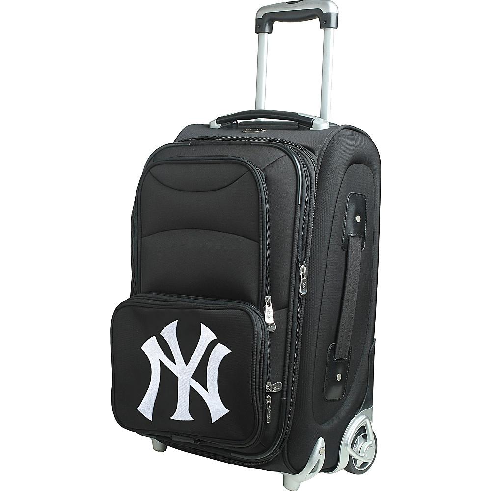 Denco Sports Luggage MLB 21 Wheeled Upright New York Yankees - Denco Sports Luggage Softside Carry-On - Luggage, Softside Carry-On