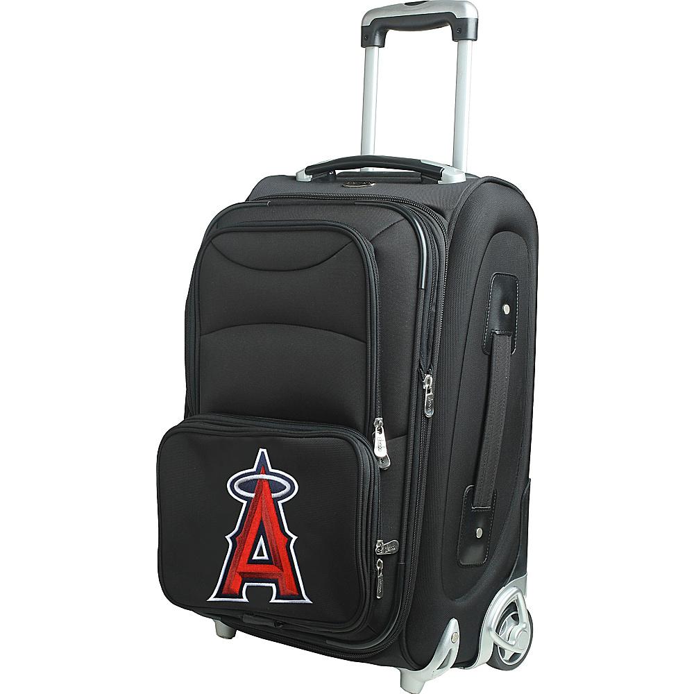 Denco Sports Luggage MLB 21 Wheeled Upright Los Angeles Angels - Denco Sports Luggage Softside Carry-On - Luggage, Softside Carry-On