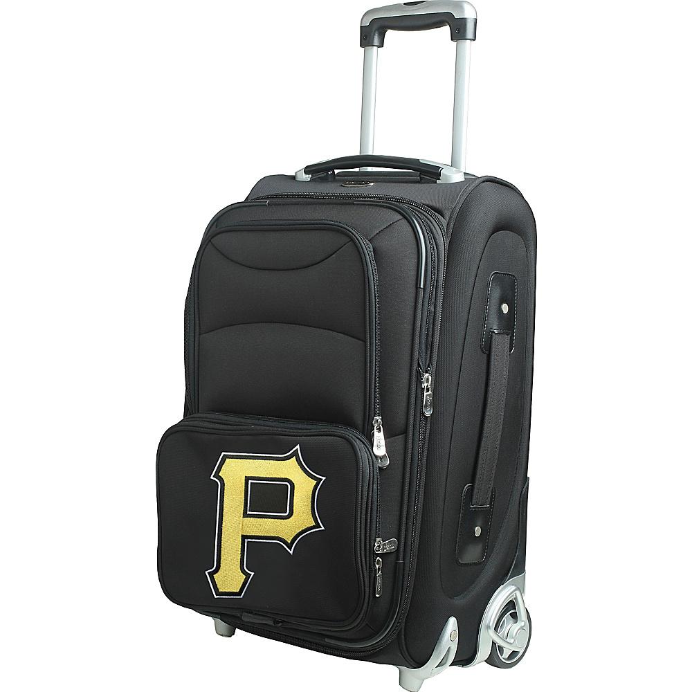 Denco Sports Luggage MLB 21 Wheeled Upright Pittsburgh Pirates - Denco Sports Luggage Softside Carry-On - Luggage, Softside Carry-On