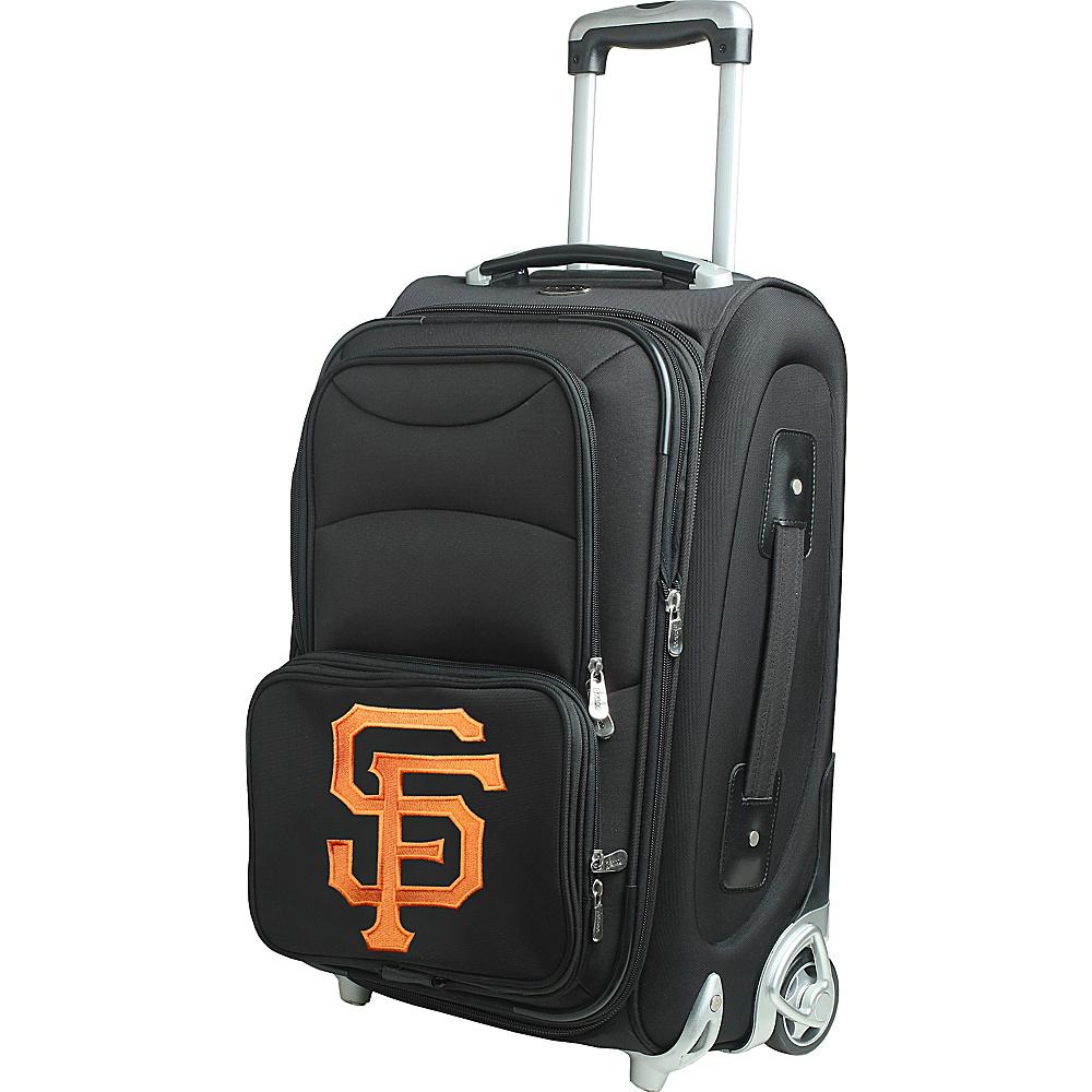 Denco Sports Luggage MLB 21 Wheeled Upright San Francisco Giants - Denco Sports Luggage Softside Carry-On - Luggage, Softside Carry-On