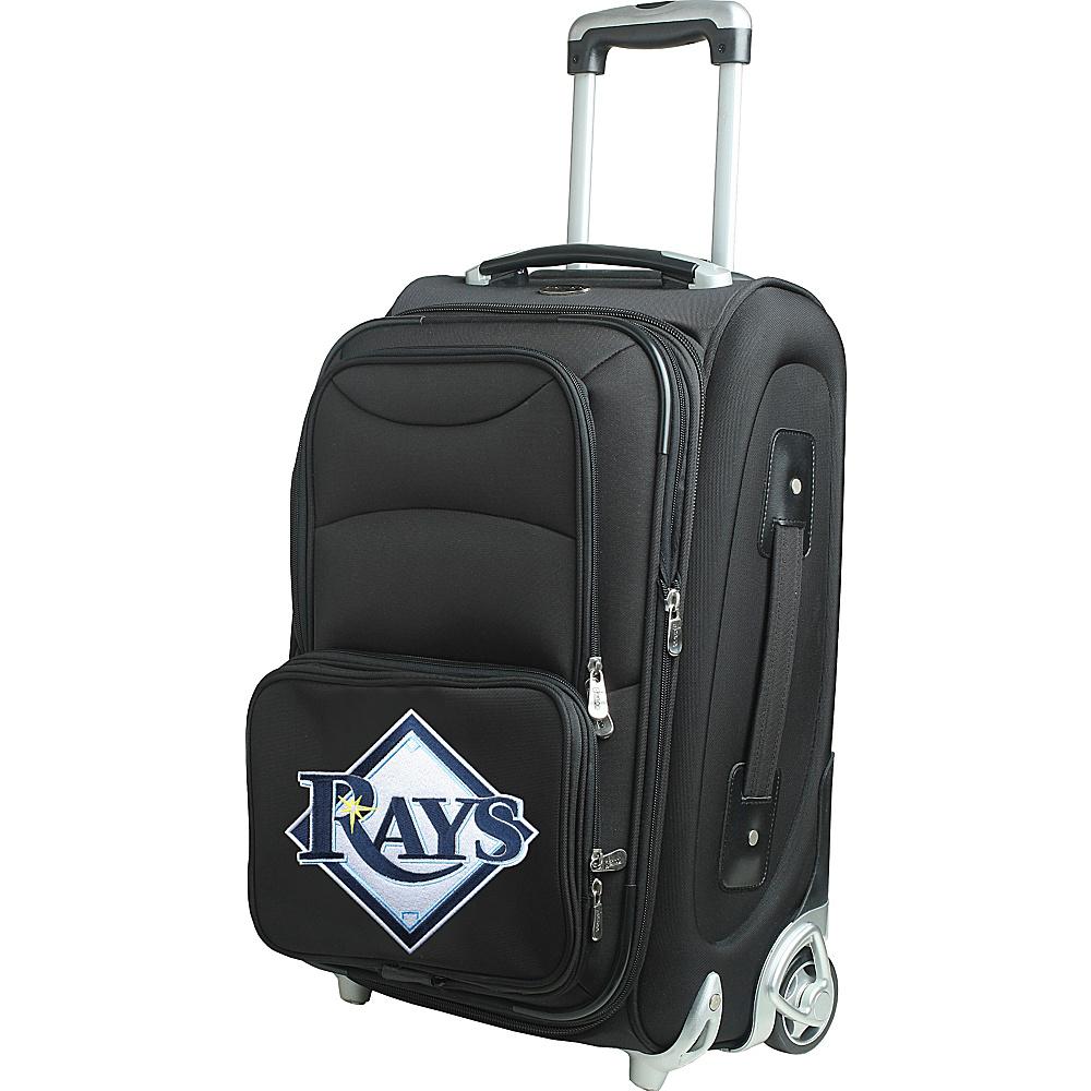 Denco Sports Luggage MLB 21 Wheeled Upright Tampa Bay Rays - Denco Sports Luggage Softside Carry-On - Luggage, Softside Carry-On